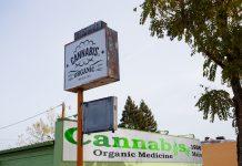 A marijuana dispensary in Oregon